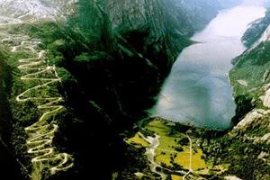 Les routes les plus dangereuses du monde Lysevegen