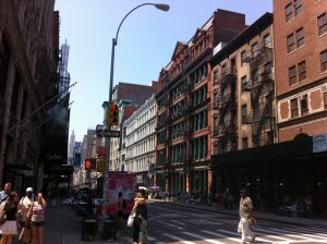 Rues de Newyork et charisme