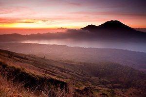 Mont Batur volcan