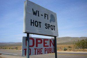 Internet en voyage free wifi