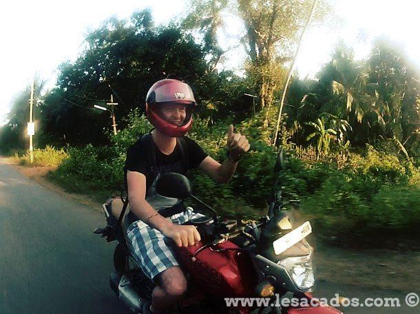 Hollandais en moto