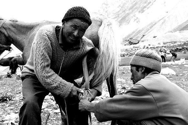 Sherpa trek au Zanskar