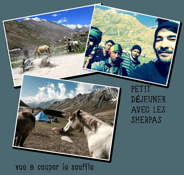 Trek en Himalaya avec les Sherpas