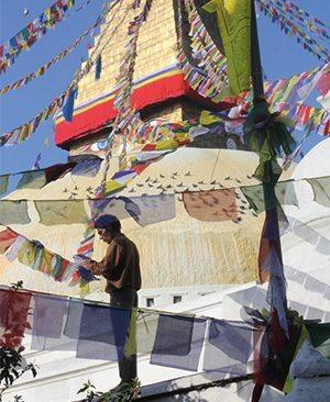 Tibet sous la neige