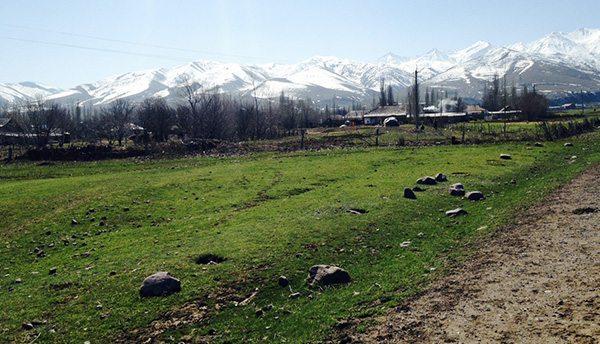 Montagnes Kirghizistan