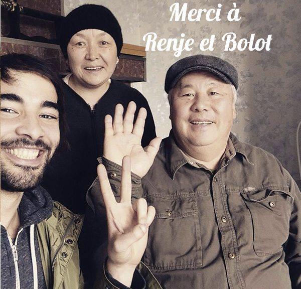 Merci à Renje et Bolot