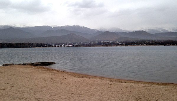 Issik Kul lac Kirghizistan