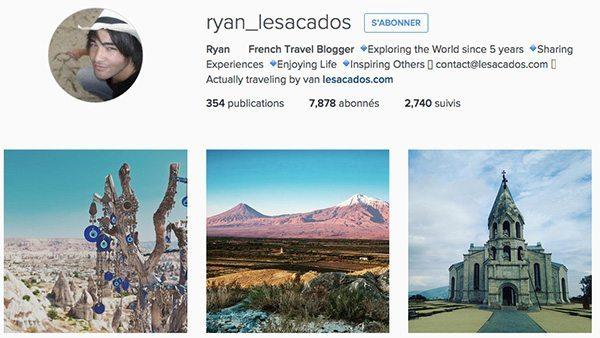 Meilleurs instagram voyage