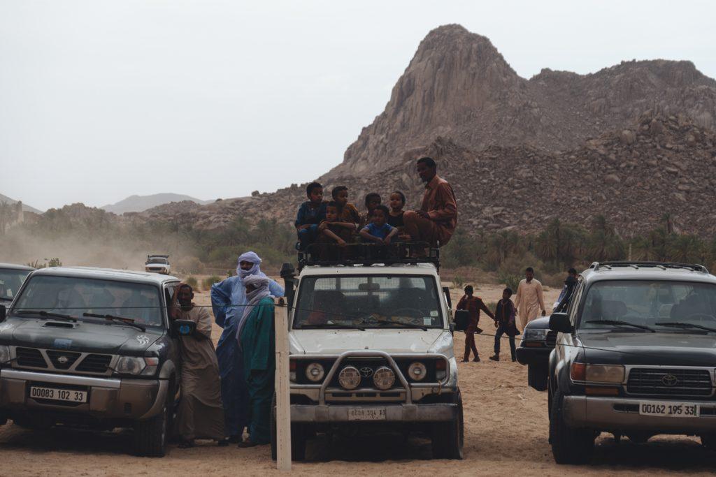 Vêtement Touareg : Des locaux à la Sebiba