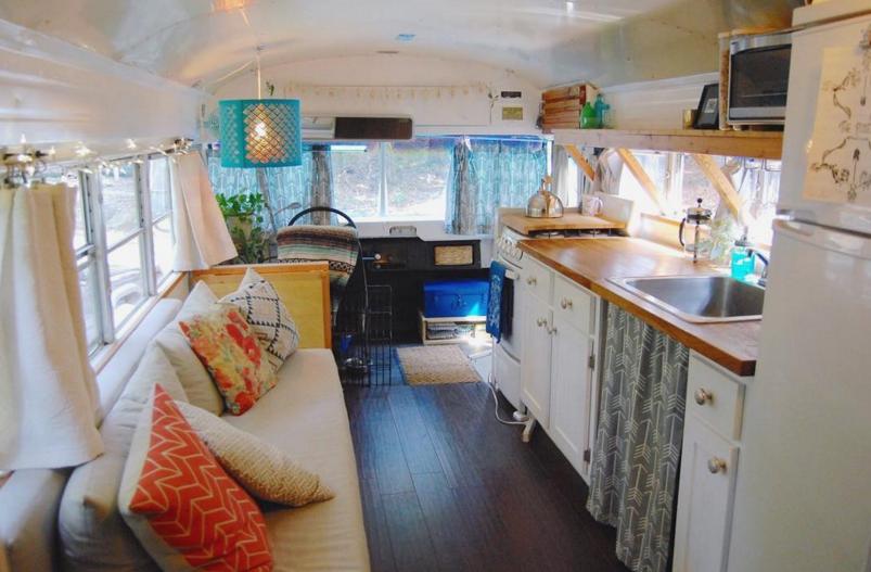 Voyage en van aménagé house_bus