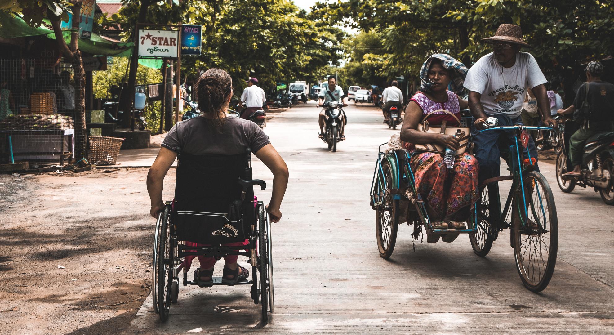A la découverte du monde en fauteuil roulant
