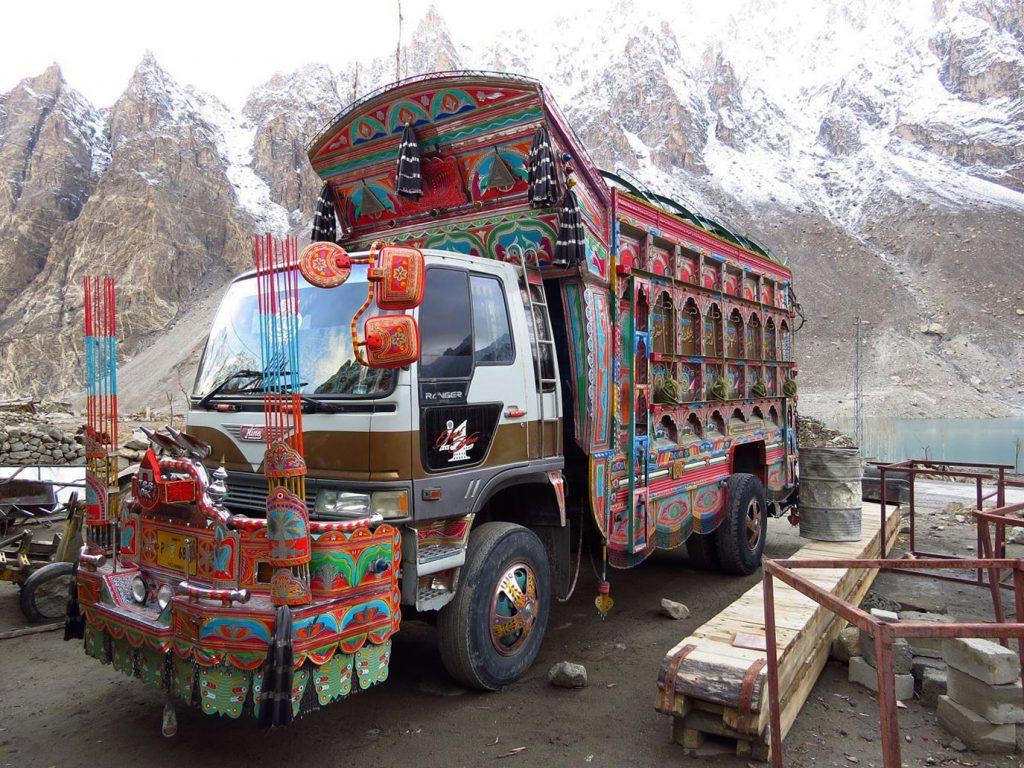 Camion décorés Pakistan
