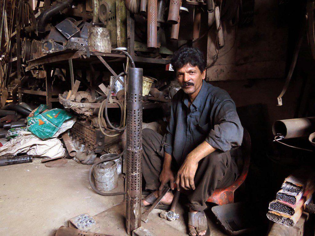 ouvriers mécanicien Pakistan
